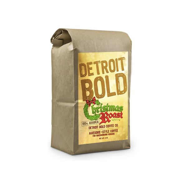 Christmas Roast Coffee Blend Ground Whole Bean Bags