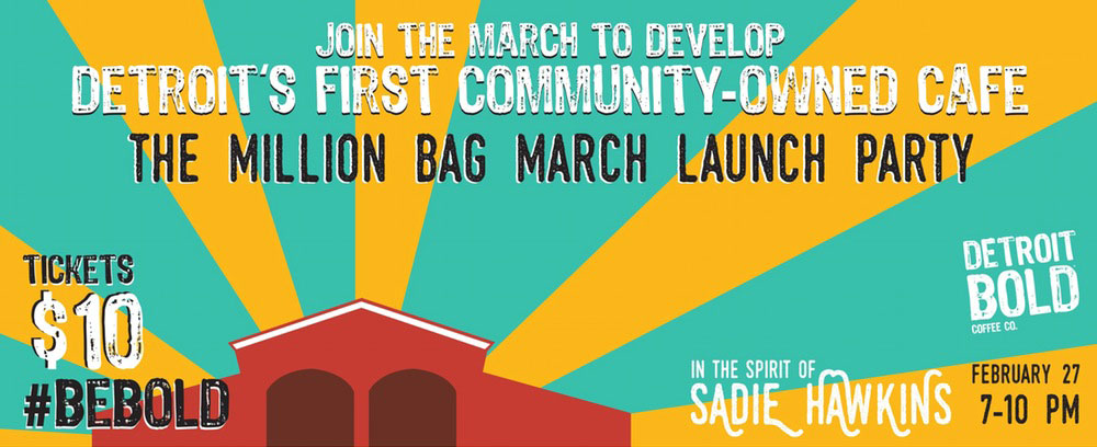 February 27, 2016 – The Million Bag March Launch Party