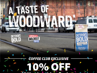 Sip some Woodward and save an additional 10% through Jan 31