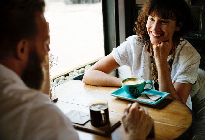 couple enjoying detroit bold coffee company the best office coffee america's boldest coffee