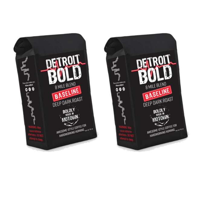 2 lb coffee subscription from Detroit Bold Coffee Company